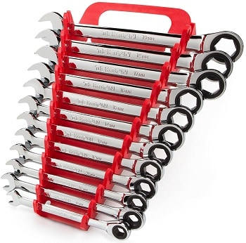 TEKTON WRN53170 Ratcheting Combination Wrench Set