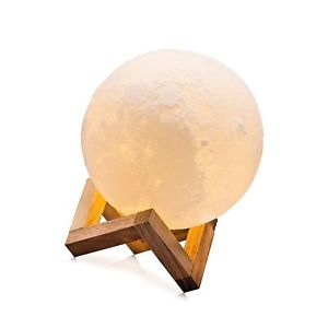 cpla night light led moon lamp