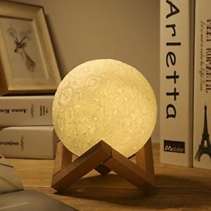 Greenlick 3d Luna Moon Lamp