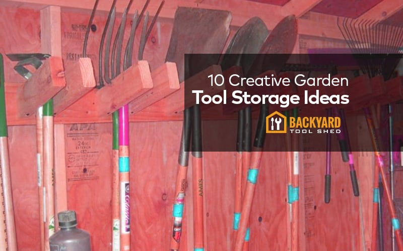 creative garden tool storage ideas