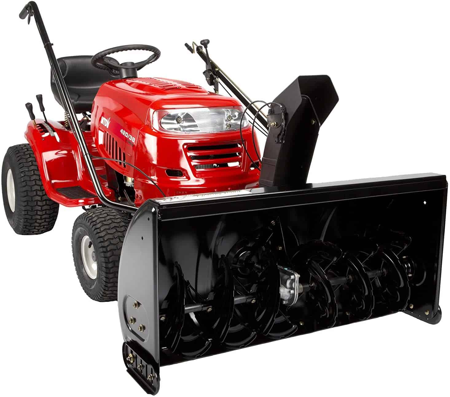 Arnold MTD Genuine Parts Two-Stage Snow Thrower Mower Attachment - 42-Inch Mowers
