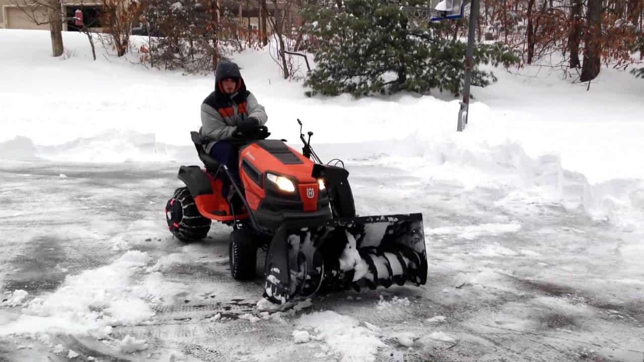Husqvarna (581 34 57-01) Lawn Mower Snow Blower Combo