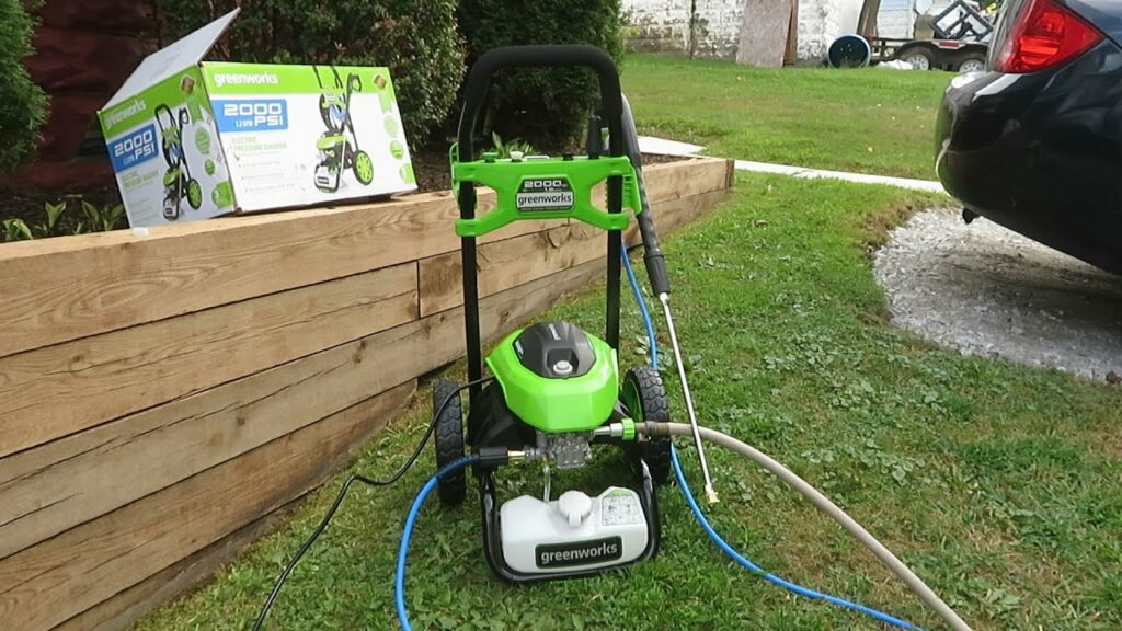 Greenworks Pressure Washer Reviews feature